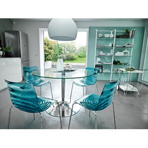 Planet Glass Dining Table by Calligaris