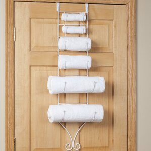Over the Door Towel Rack & Over-the-Door Towel Racks Youu0027ll Love | Wayfair pezcame.com