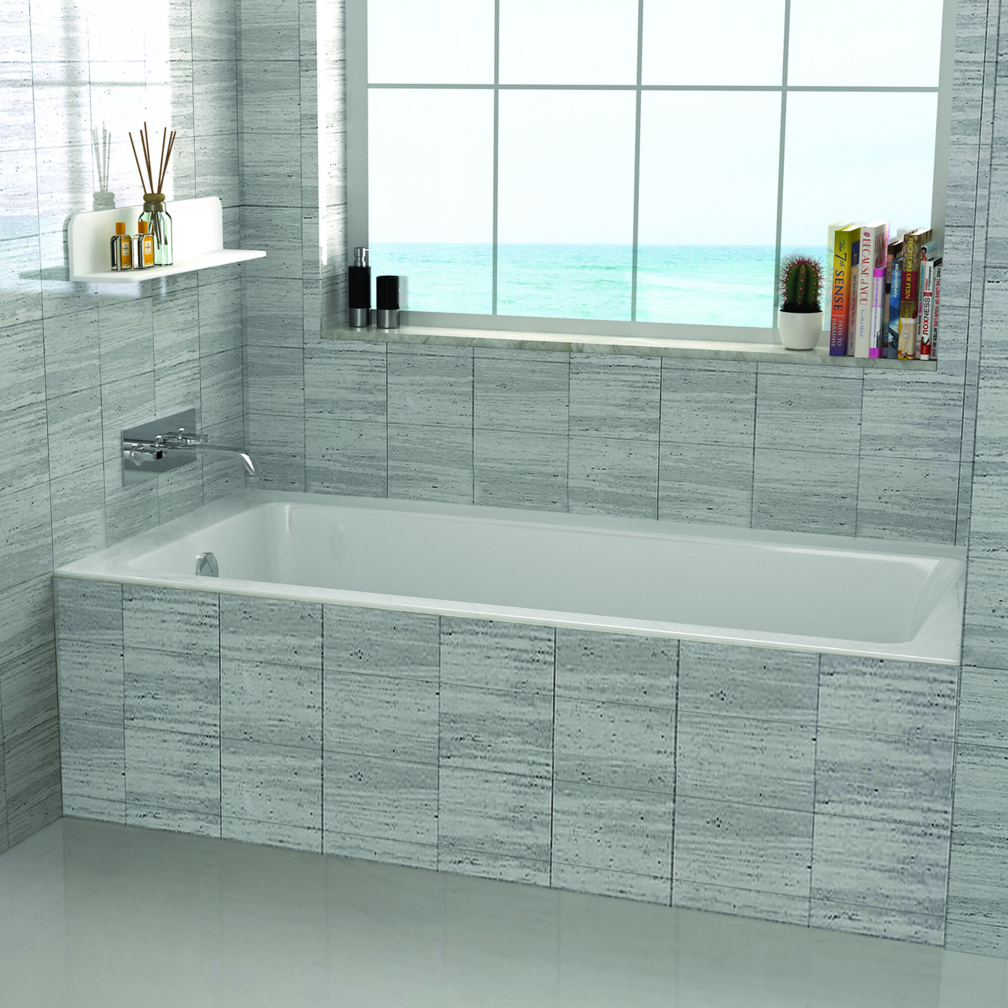 Wayfair Fine Fixtures 48 X 32 Drop In Soaking Bathtub