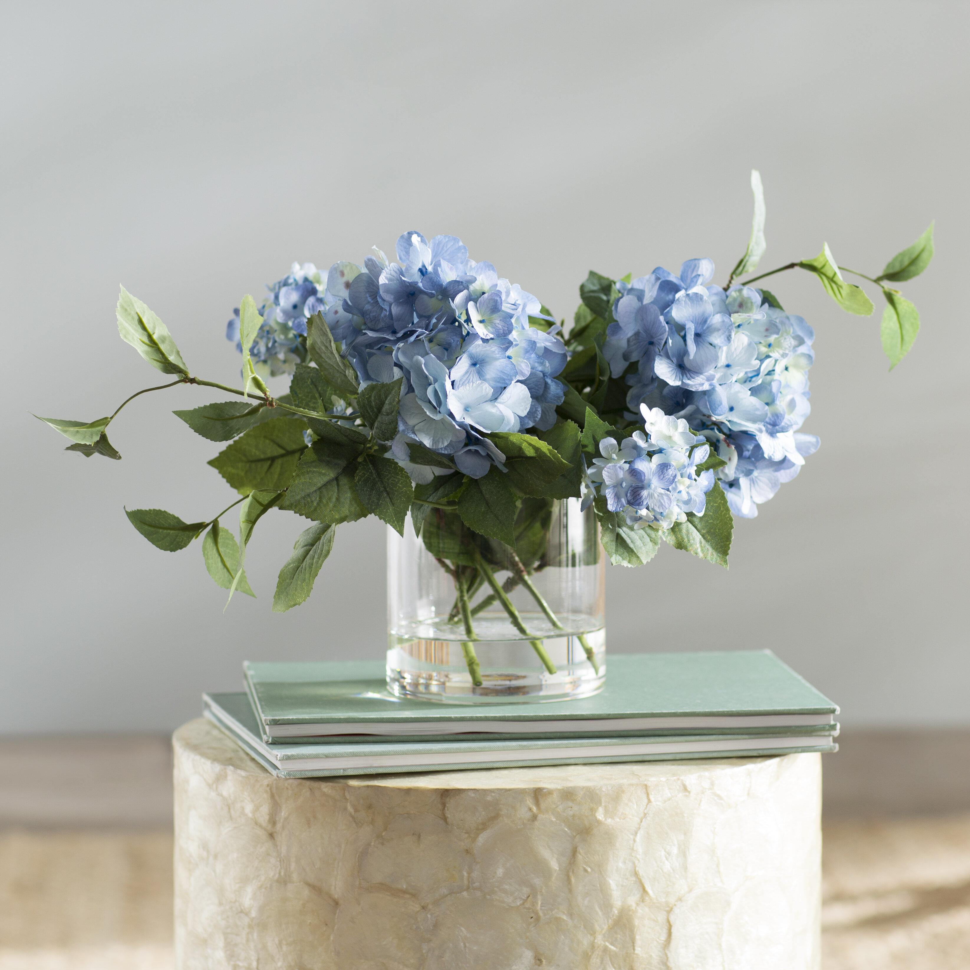 Bon Beachcrest Home Hydrangea Flower Spray Arrangement U0026 Reviews | Wayfair
