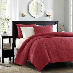 red bedroom set. Emy Coverlet Set Red Bedding Sets You ll Love  Wayfair