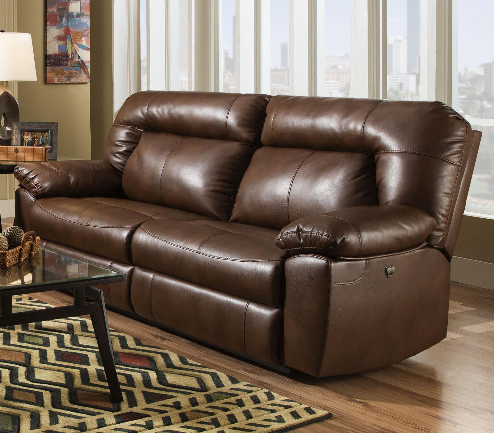 Red Barrel Studio Bolles Dual Reclining Sofa U0026 Reviews   Wayfair