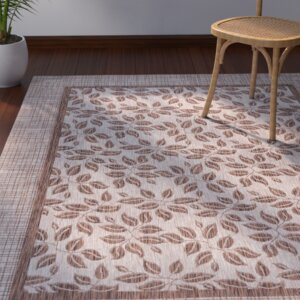 Key Haven Natural Indoor/Outdoor Area Rug