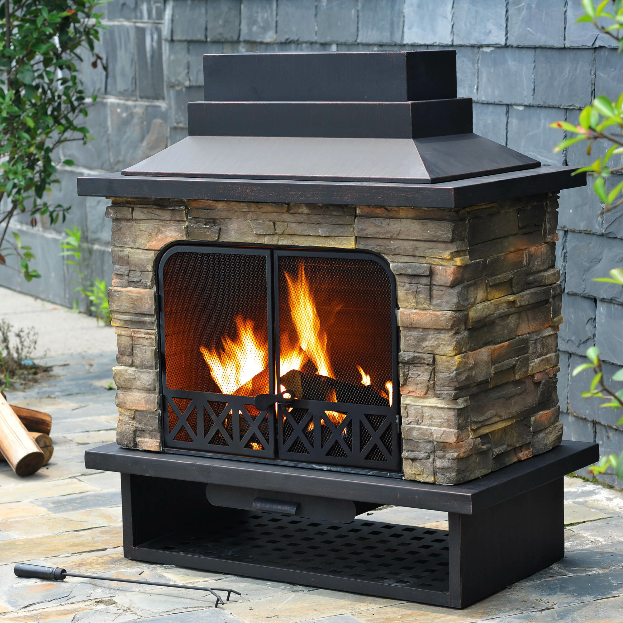 a adds fireplace tabletop inspirational touch outdoor awesome casatessa striking sparo com rustic with nu of the design this bold flame bomelconsult just on so its bought ethanol i cute
