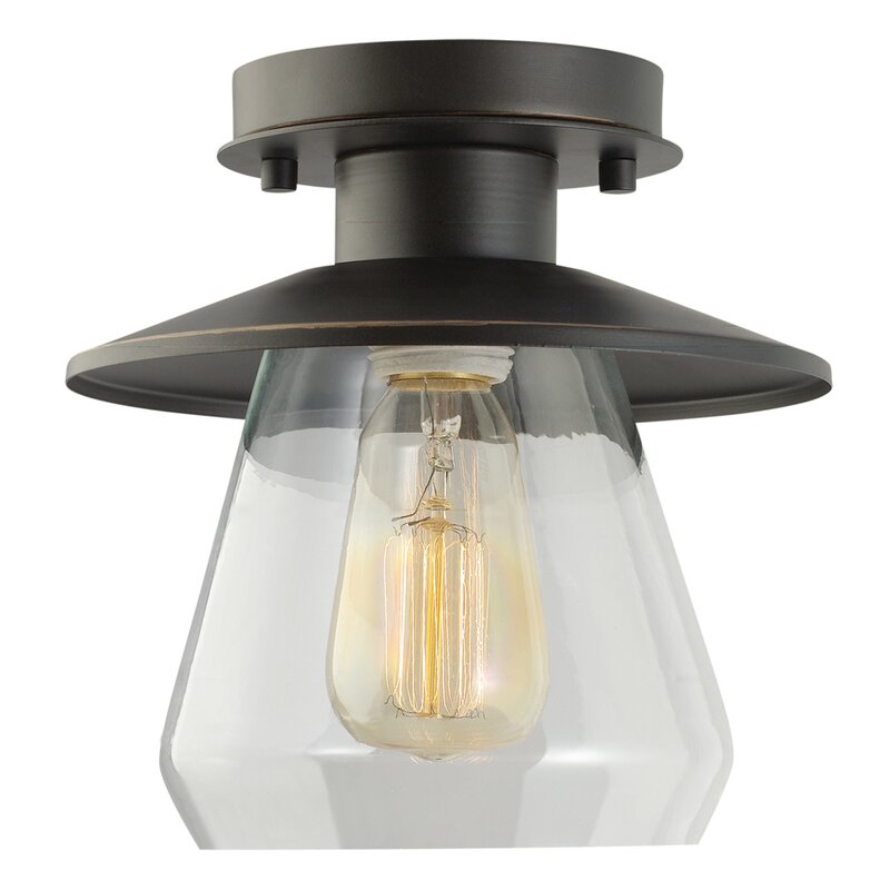 Trent Austin Design Birmingham La Grange 1-Light Semi Flush Mount