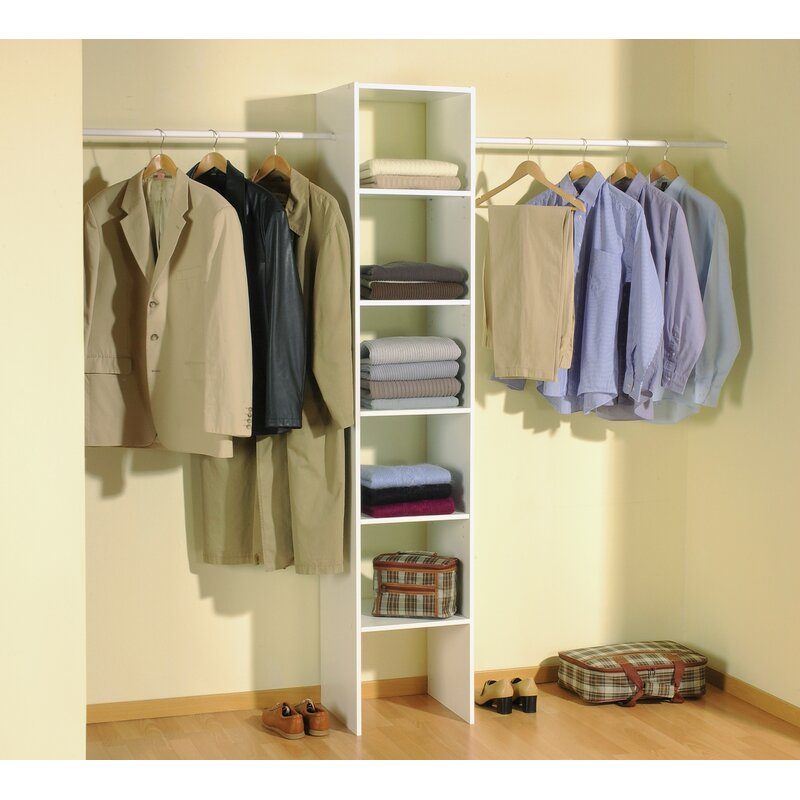 home etc hausen 140cm wide clothes storage system reviews. Black Bedroom Furniture Sets. Home Design Ideas