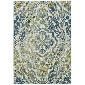 Anabranch Green/Blue Area Rug