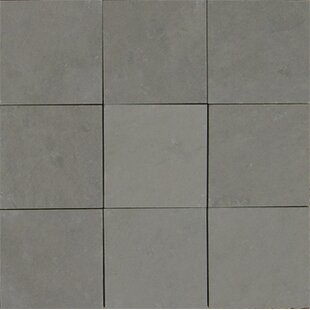Pewter 4 X Slate Field Tile In Gray