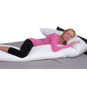 Extra Long Straight Down Alternative Body Pillow by Deluxe Comfort