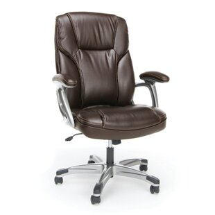 Essentials Ergonomic Leather Executive Chair  sc 1 st  Wayfair & Executive Office Chairs Youu0027ll Love   Wayfair