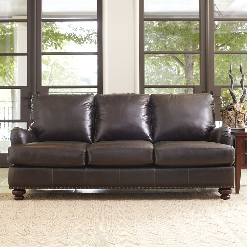 Montgomery Leather Sofa