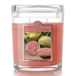 Pink Guava Scent Jar Candle (Set of 4)