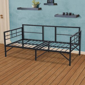 Mcintosh Easy Set Up Metal Daybed Frame by Ebern Designs Image