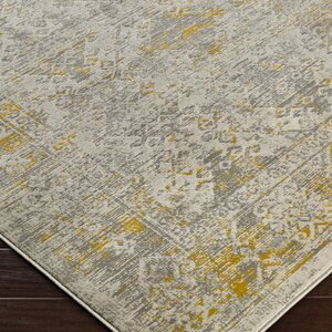 Anil Yellow/Gray Area Rug
