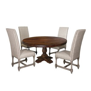 Carbone 5 Piece Dining Set by 17 Stories