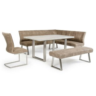 Derryberry L Shaped Upholstered Bench