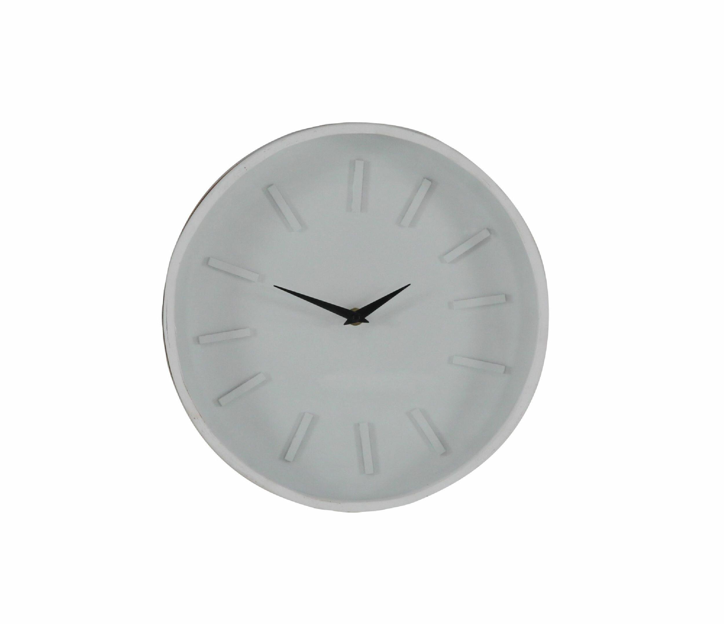 . Modern Round Analog Wall Clock