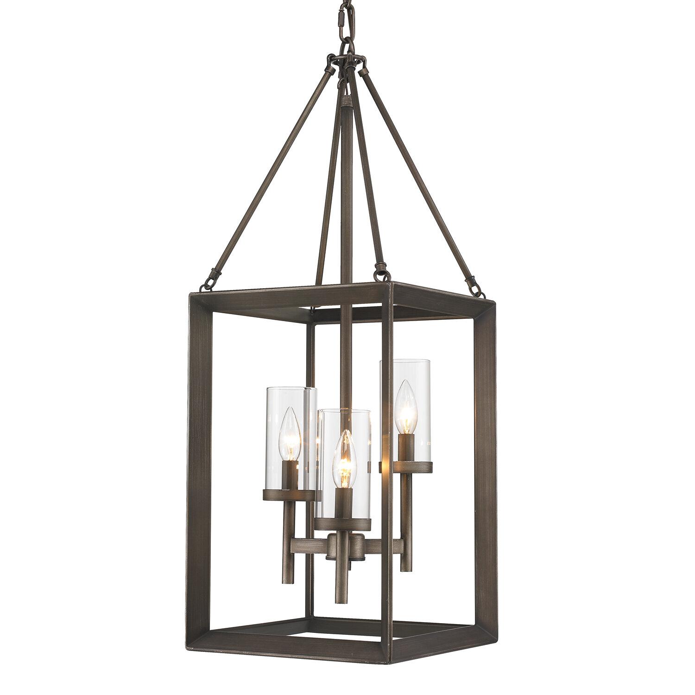 Thorne 3 light foyer pendant