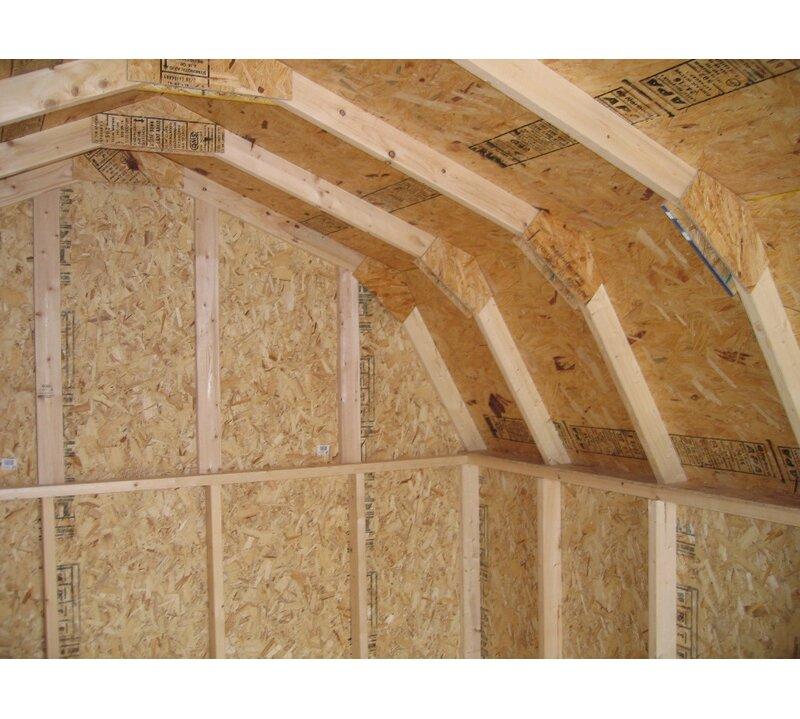 Value Gambrel Barn Precut Solid Wood Flooring Kit