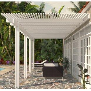 pergola aluminum, wall aluminum pergola   wayfair, Design ideen