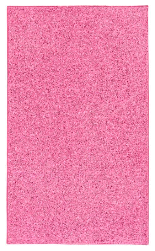 anika pink area rug