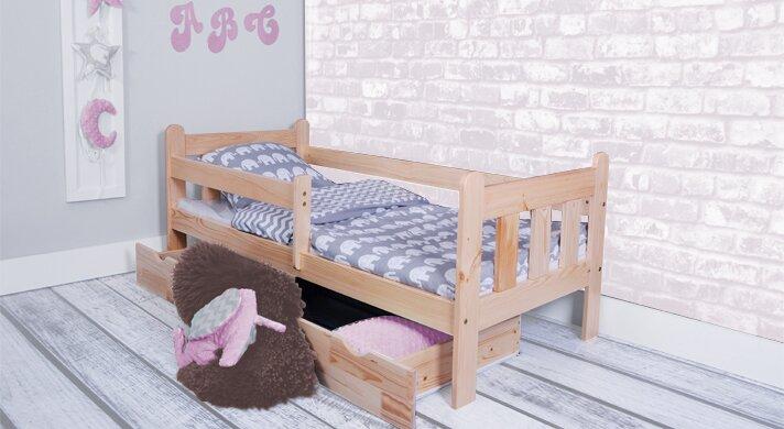 Möbel concept funktionsbett clara mit matratze und schublade
