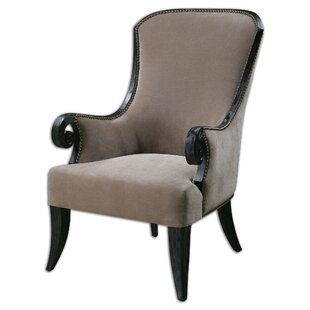 Awesome Kandy Taupe Armchair