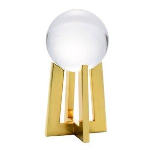 Decorative Crystal Orb On Base