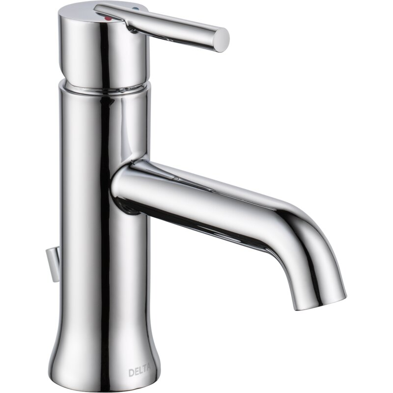 Delta Bathroom Faucets.Trinsic Single Hole Bathroom Faucet