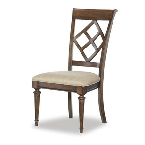 Ann Diamond Back Side Chair (Set of 2) by Darby Home Co