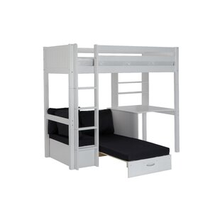 Robena European Single High Sleeper Bed with Trundle by Norden Home