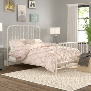 Queen White Iron Bed Frame Wayfair