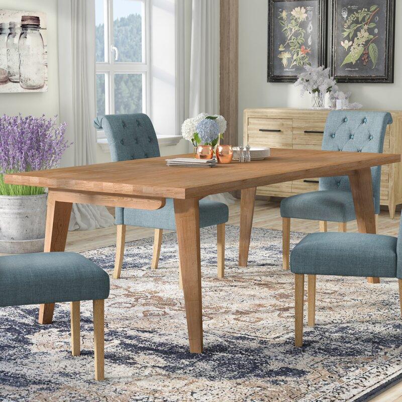 Laurel Foundry Modern Farmhouse Descartes Dining Table Reviews Wayfair