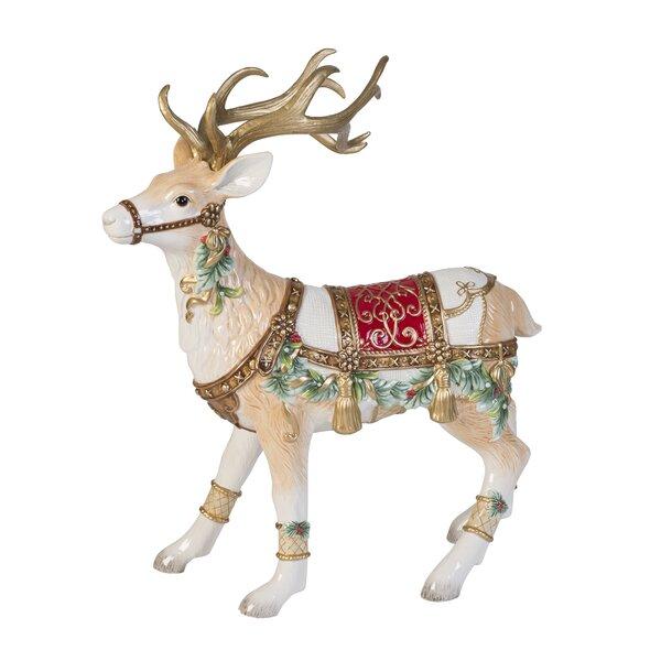 Reindeer Figurines You Ll Love Wayfair