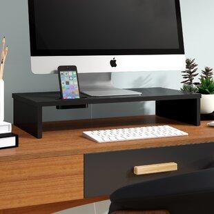 Wooden Computer Monitor Stand Wayfair Co Uk