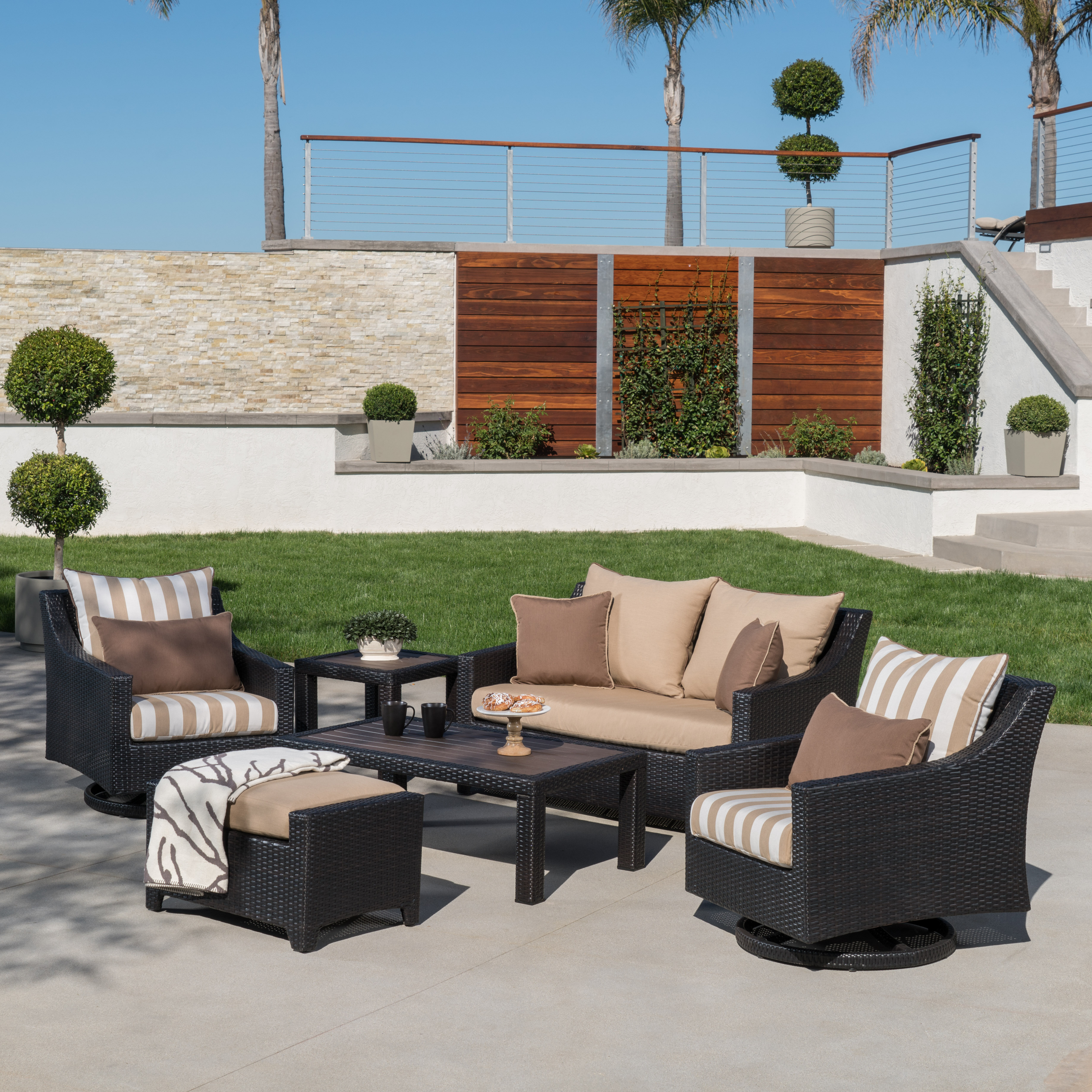 Genial Three Posts Northridge 6 Piece Sunbrella Sofa Set With Cushions U0026 Reviews |  Wayfair