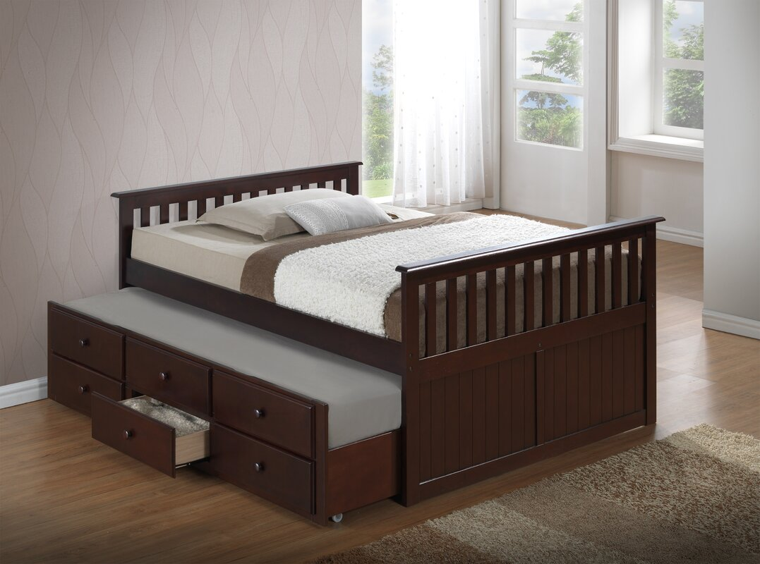 Broyhill Kids Marco Island Captain\'s Bed with Trundle Bed and ...