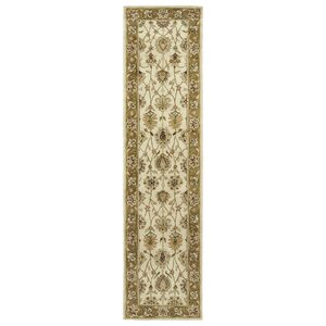 Mary Linen Floral Area Rug