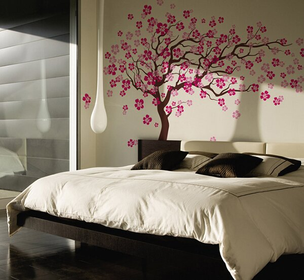 Merveilleux Cherry Blossom Tree Wall Decal