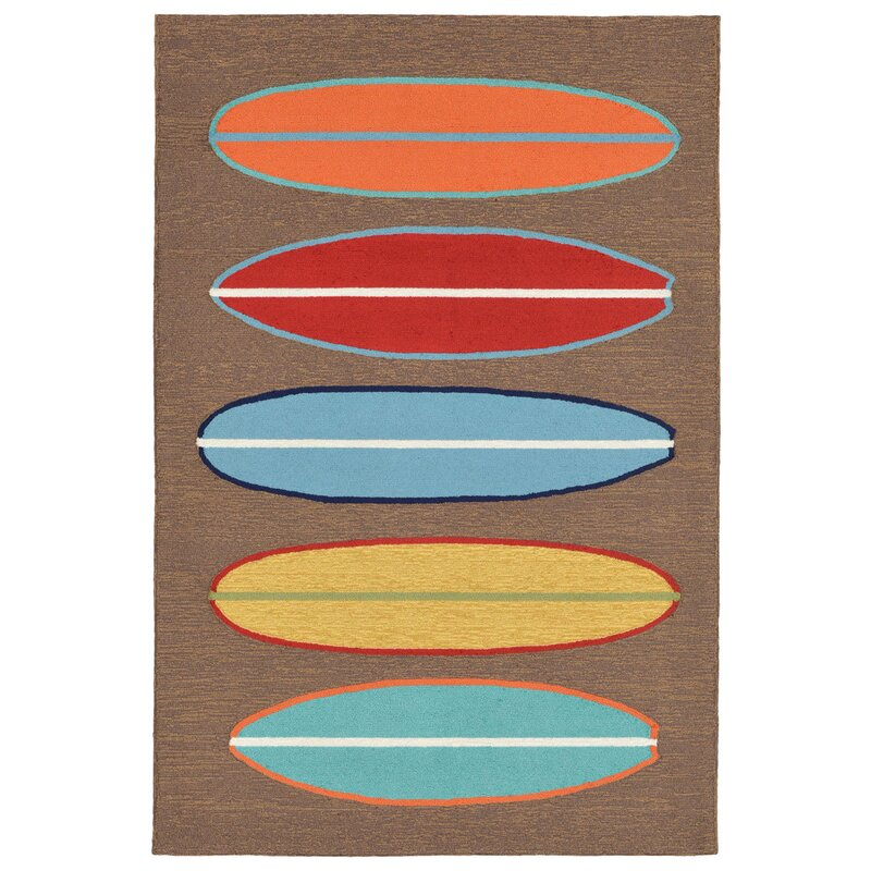 Surfboard Area Rug: Uniquely Modern Rugs