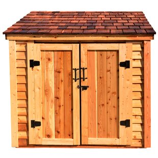 c92fed655143 H Solid Wood Lean-To Storage Shed