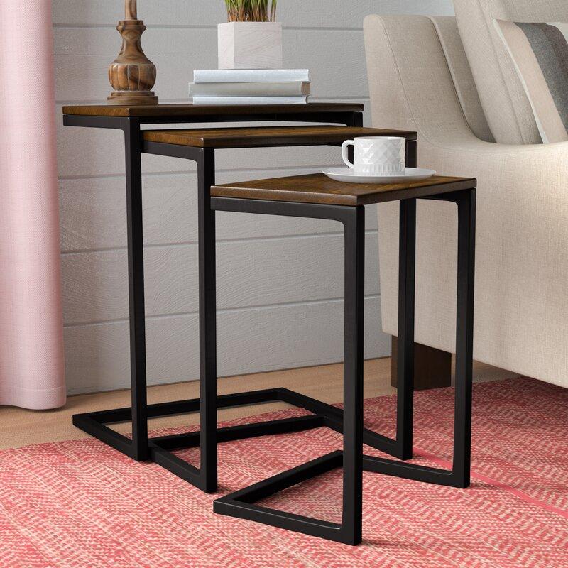 Laurel Foundry Zenia Piece Nesting Tables Amp Reviews Wayfair