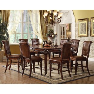 Gabler 9 Piece Pub Table Set
