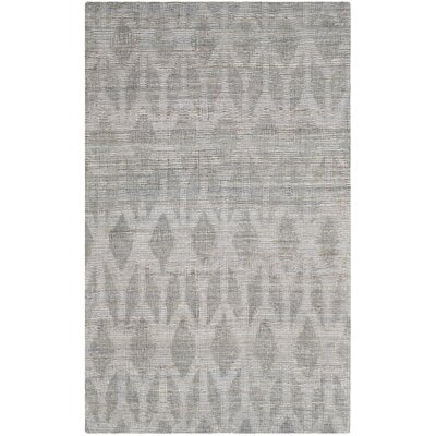 Gilchrist Hand Woven Grey Gold Area Rug