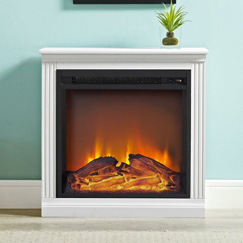 Solvi Simple Electric Fireplace