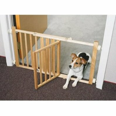 Walk Over Pet Gate With Door