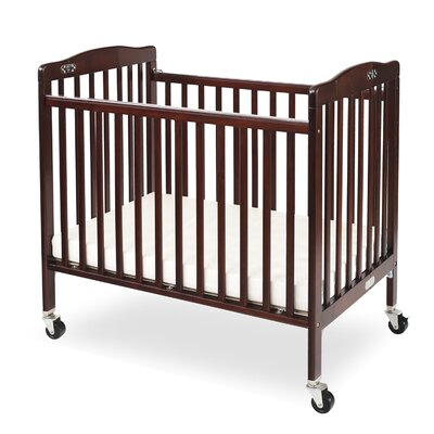 portable mini cribs you 39 ll love wayfair. Black Bedroom Furniture Sets. Home Design Ideas