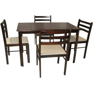 Sussex 5 Piece Dining Set by Andover Mills