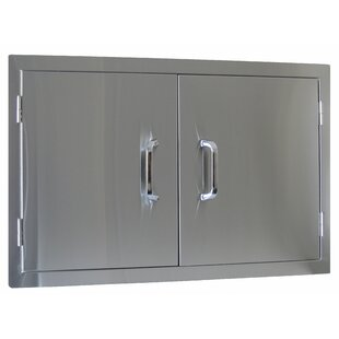 Stainless Steel Prehung Interior Door