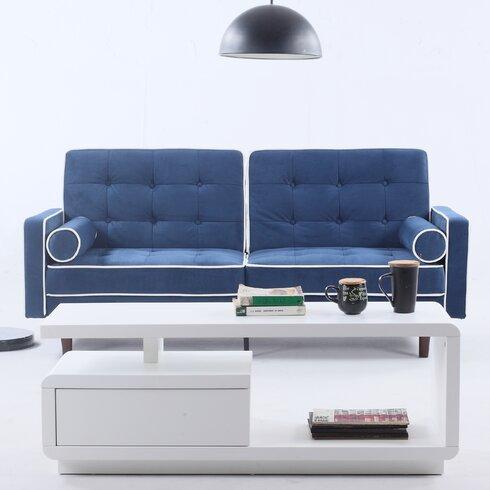 mid century modern convertible sofa allmodern